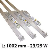 Lichtstrip 23/25 W laagmodel 1002 mm