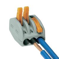 Wago plug socket 3-fold