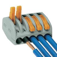 Wago plug socket 5-fold