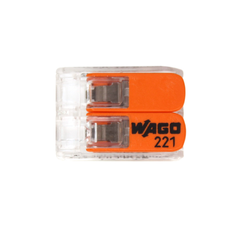 Wago clamp 2 x 4 mm
