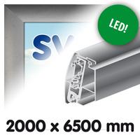 Proface doekbak 2000 x 6500 mm