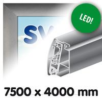 Proface doekbak 7500 x 4000 mm