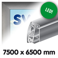 Proface doekbak 7500 x 6500 mm