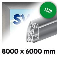 Proface doekbak 8000 x 6000 mm