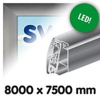 Proface doekbak 8000 x 7500 mm