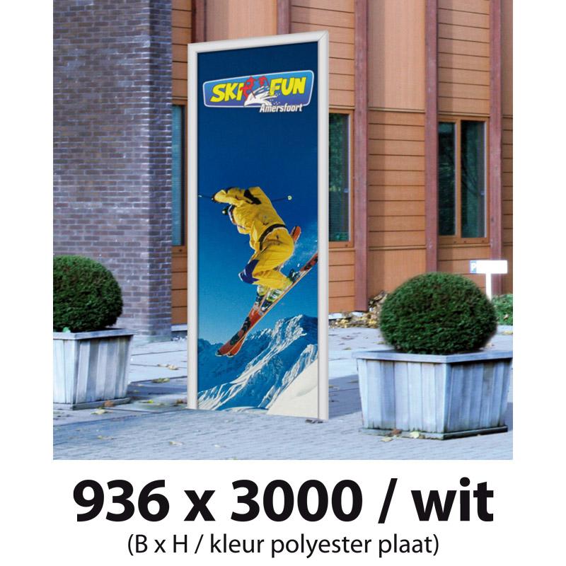D-Sign grijs 3000 x 800 mm