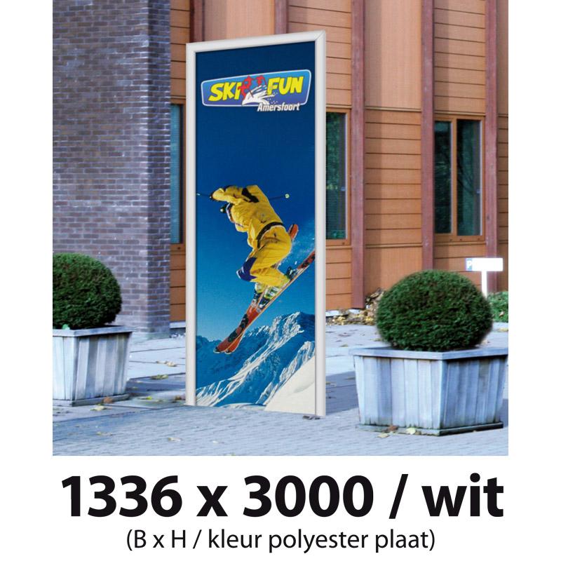 D-Sign grijs 3000 x 1200 mm