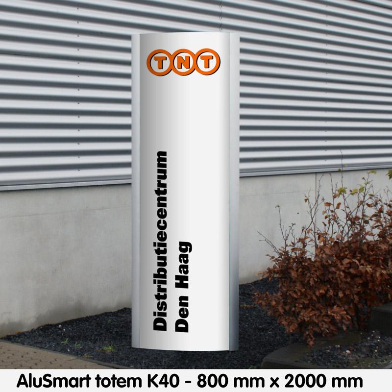 Alusmart totem k40 2000 x 800 mm