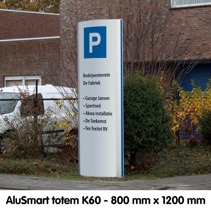 AluSmart totem K60 800 x 2000 mm