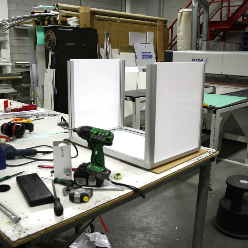 Kubus verlicht 800 x 800 x 800 mm