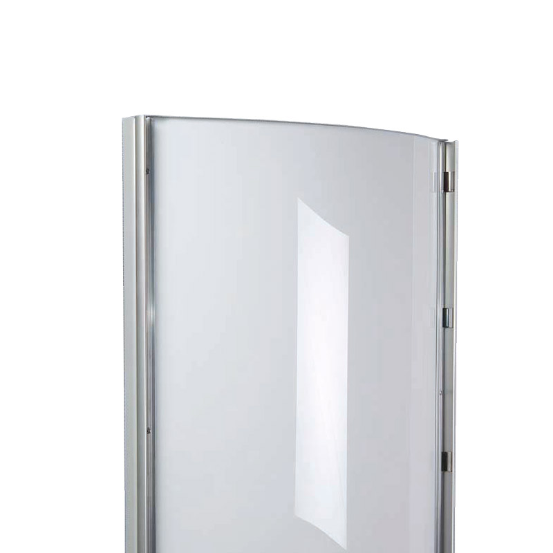 Convex curved light box led A1