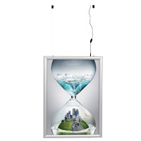 Smart LEDbox double-sided 35 mm profile A0