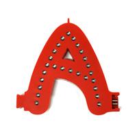 Smart Led Letter rood A