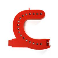Smart Led Letter rood C