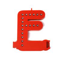 Smart Led Letter rood F