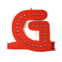 Smart Led Letter rood G