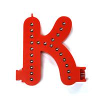 Smart Led Letter rood K