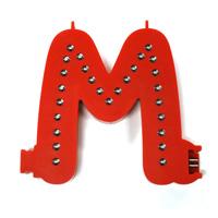 Smart Led Letter rood M