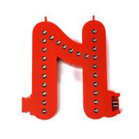 Smart Led Letter rood N
