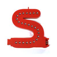 Smart Led Letter rood S