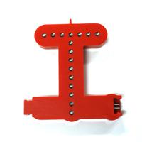 Smart Led Letter rood T