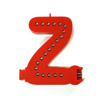 Smart Led Letter rood  Z