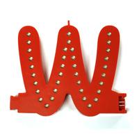 Smart Led Letter rood W
