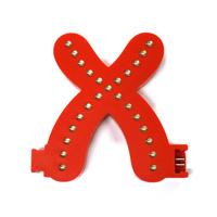 Smart Led Letter rood  X