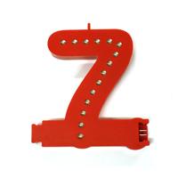 Smart Led Cijfer rood  7
