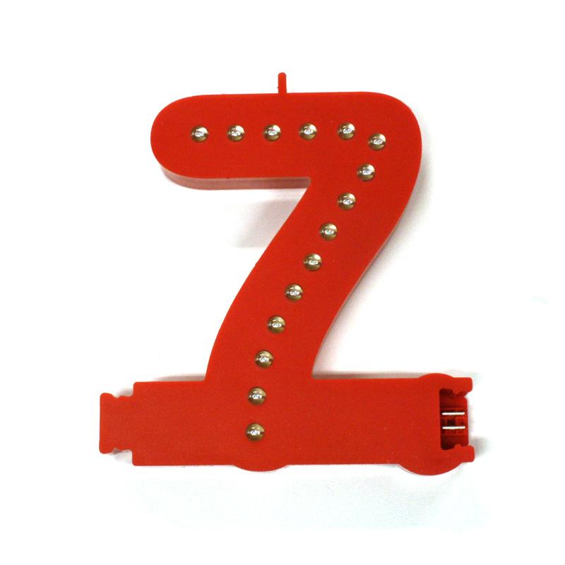 Smart led number 7