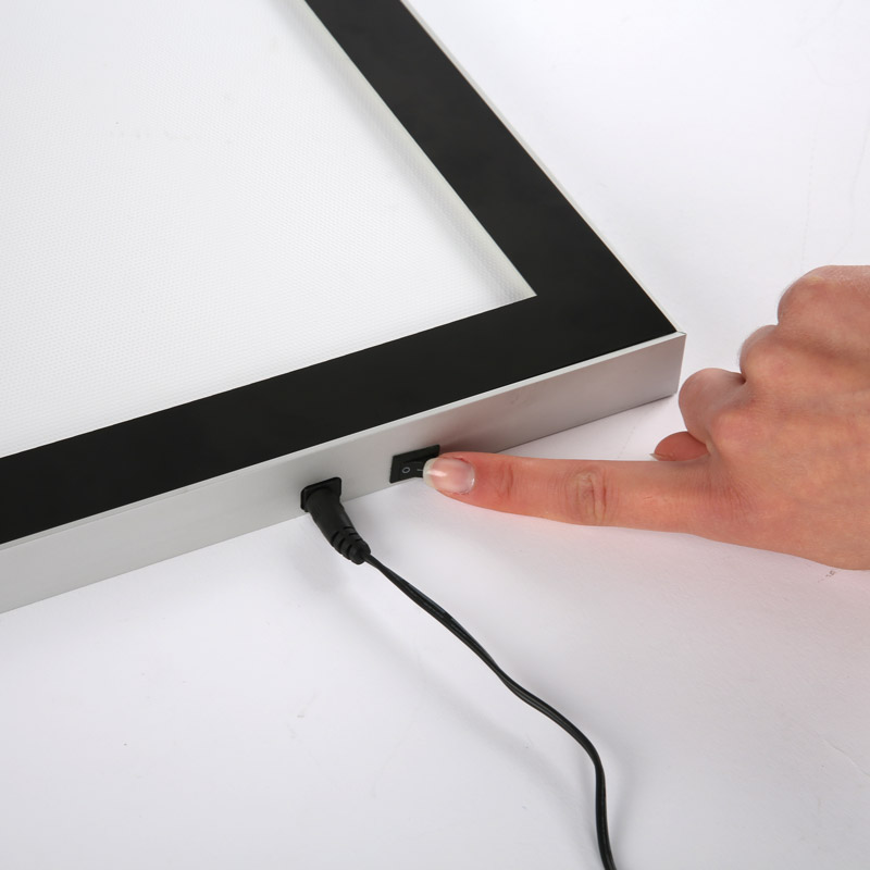 Magnetic LEDbox single sided A0
