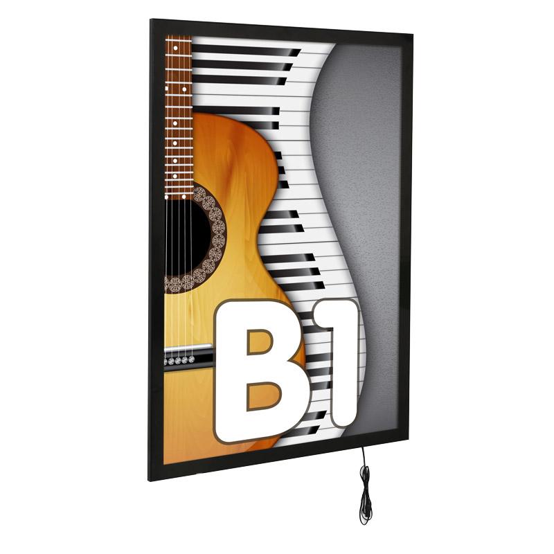 Ledbox magneco B1 single sided black