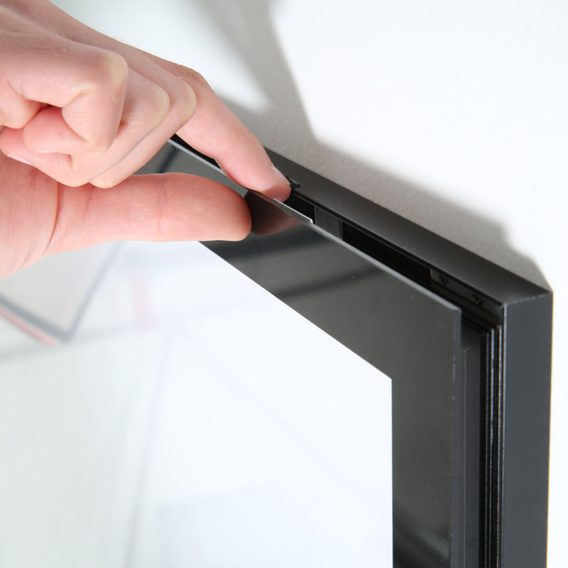 Ledbox magneco B2 single sided black