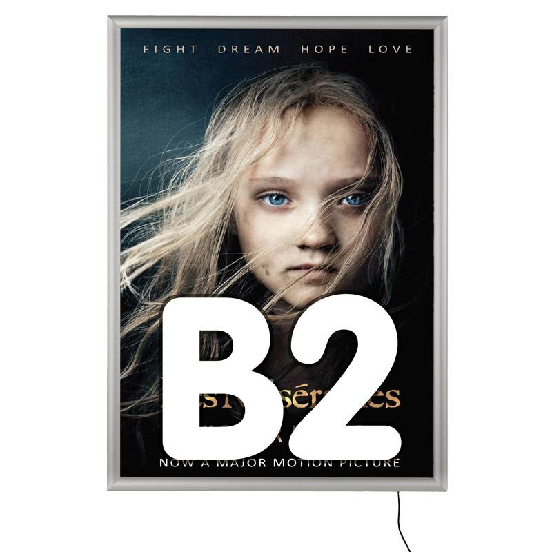 Cadre rapide LED 25 mm en onglet B2