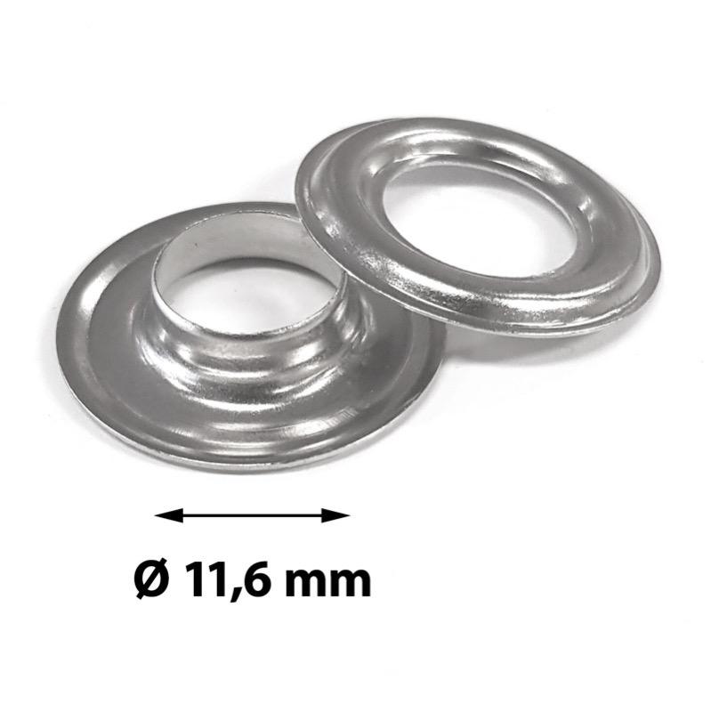 Zeilringen zelfsnijdend rond 11,6 mm