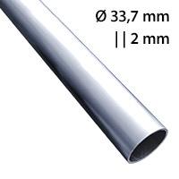 Buis 33,7 mm wanddikte 2 mm aluminium