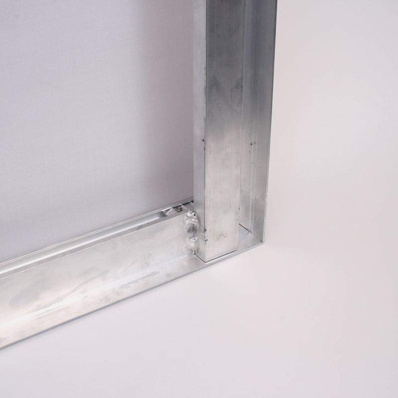 Blindframe 81 mm, 500 x 2000 mm