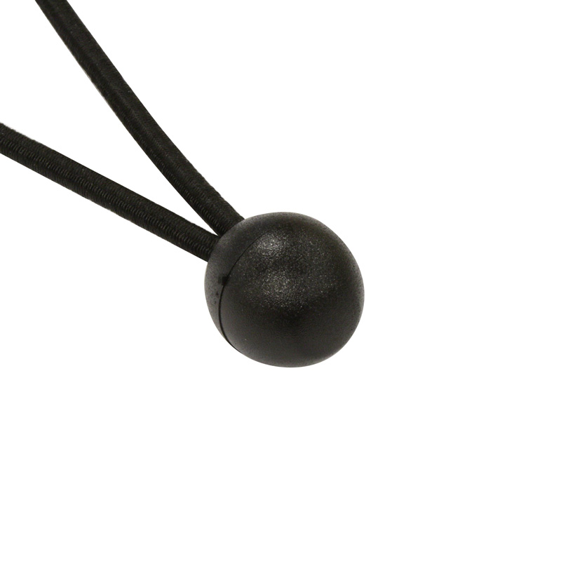 Bungee Ball Zwart 180 mm Ø 6 mm