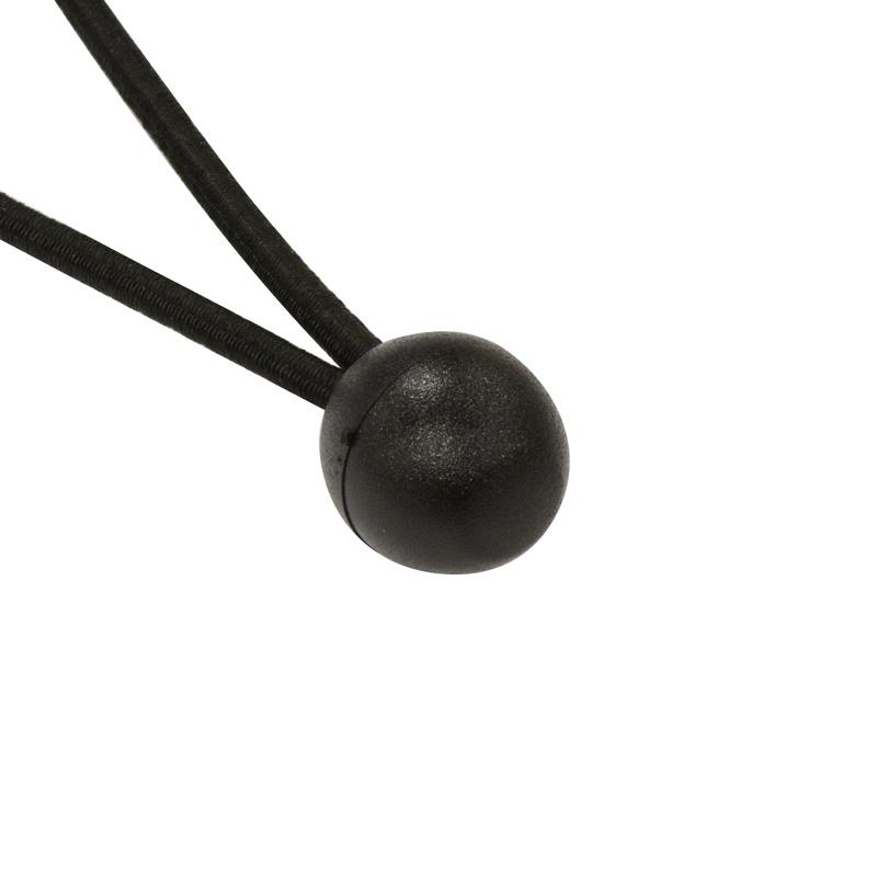 Bungee Ball Black 250 mm Ø 6 mm