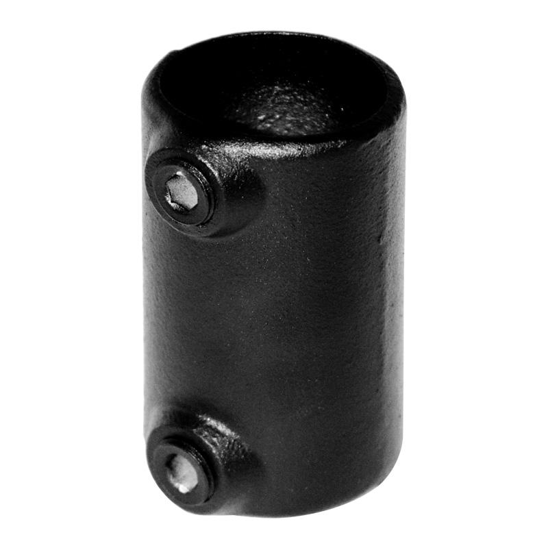 Koppelstuk Ø 48 mm zwart