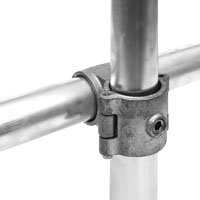 Cross clamp hinged 48.3 mm