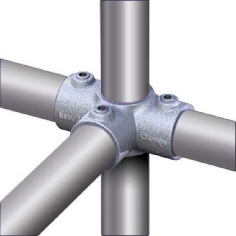 Coupling 3-way 90° diameter 48 mm
