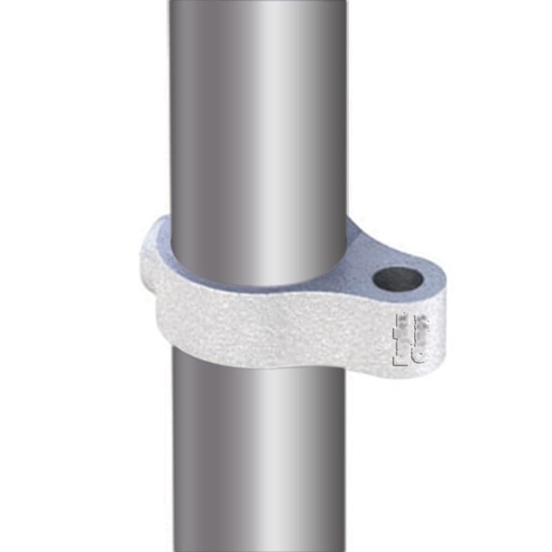 Clamping ring for gate hinge F (female), diameter 33 mm