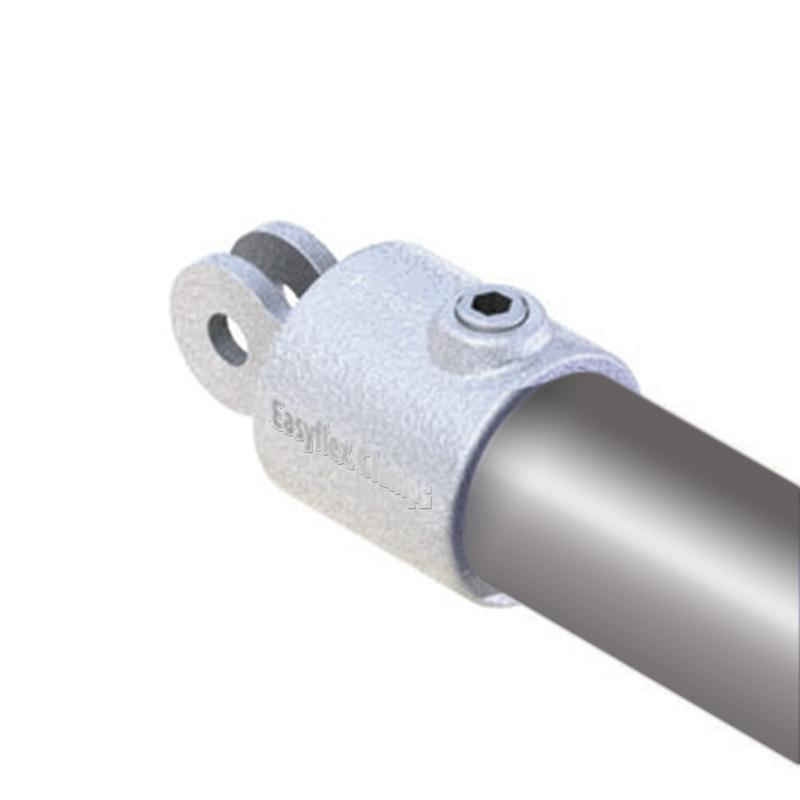 Hingepart v (female) 33 7 mm