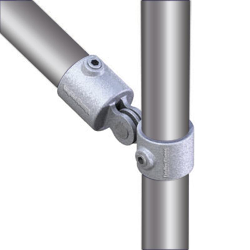 Brace clamp 2-leg 48 3 mm