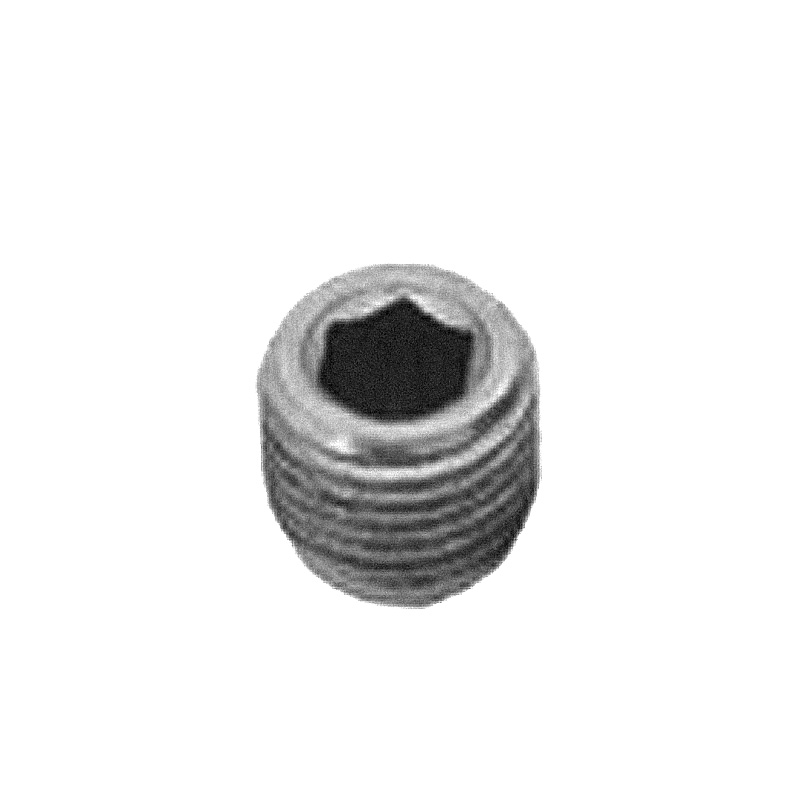 Stainless steel adjusting screw 33,7 mm