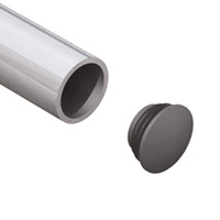 Plastic Eindkap 33,7 mm