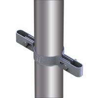 Montage a clip pour le tuyau double, diamètre 42 mm