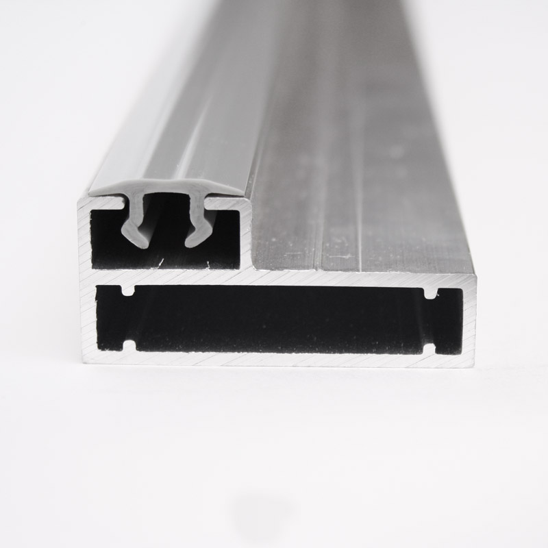 Clip frame profile 22 mm for pile wall