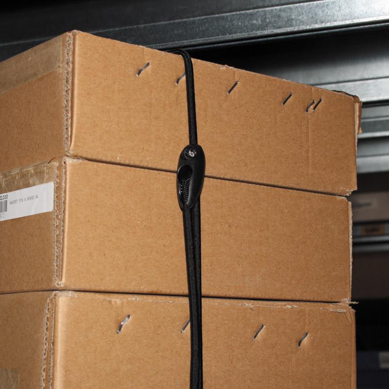 FastFix Bungee Zwart 400 mm Ø 5 mm